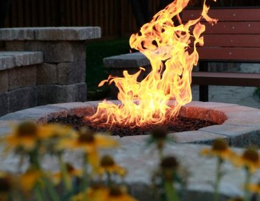 flower-autumn-backyard-fire pit GTLAD