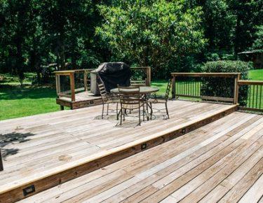 large wooden deck GTLAD