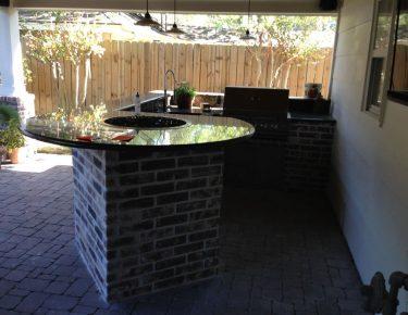 outdoor kitchen in Houston GTLAD
