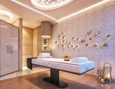 serene modern spa room by GTLAD