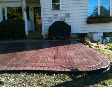stamped concrete in Houston by GTLAD